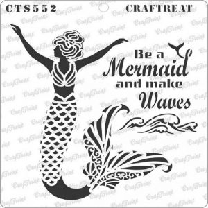 CrafTreat Stencil - Mermaid