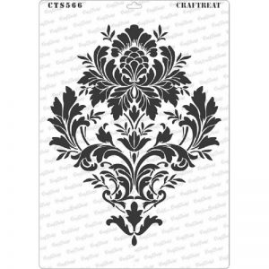 CrafTreat Stencil - Brocade A4