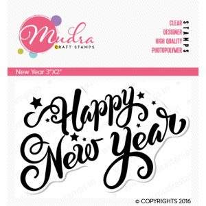 Mudra Clear Stamp - New Year
