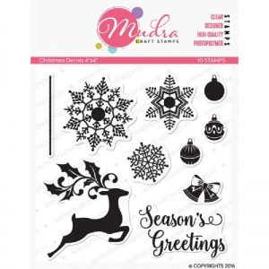 Mudra Clear Stamp - Christmas Decors