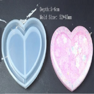 Silicone Shaker Mould - Heart