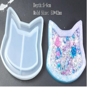 Silicone Shaker Mould - Cat