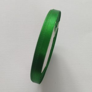 Green Satin Ribbon 8mm