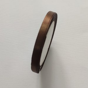 Cafe Brown Satin Ribbon 8mm