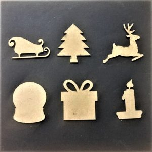 MDF Christmas Theme Set 3