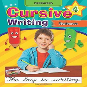 Cursive Writing Book (Sentences)  by Dreamland Publications