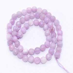 Light Lavender Agate Beads