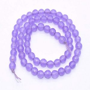 Purple Agate Beads