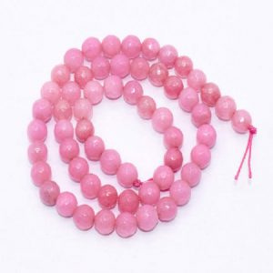 Pink Agate Beads