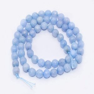 Light Blue Agate Beads