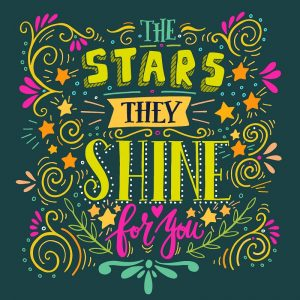 The Starts They Shine For you Decoupage Napkin