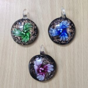 Round Glass Pendants