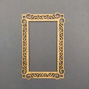 MDF Rectangle Style2 Frame