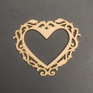 MDF Heart Style 1 Frame