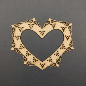 MDF Heart Style 3 Frame