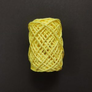 Lemon Yellow Paper Twine