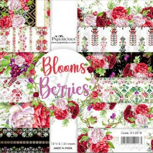 Papericious Designer Edition 12 x 12 Paper Pack - Blooms & Beeries