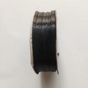 Black Satin Ribbon  3mm