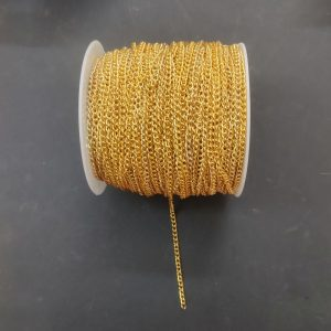Gold Link Chain 2 mm