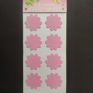 Foam Stickers - Pink Flower