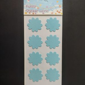 Foam Stickers - Baby Blue Flower