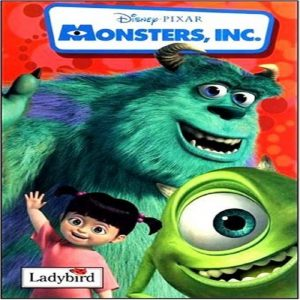 Monsters Inc Book of the Film by Disney