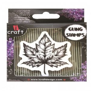 ICraft Rubber Stamp - Maple Leaf