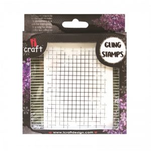 ICraft Rubber Stamp - Lines