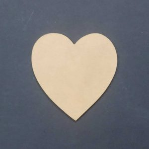 MDF Heart Cut Out