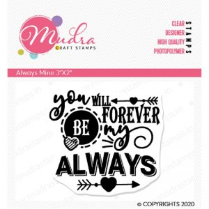 Mudra Clear Stamp - Always Mine
