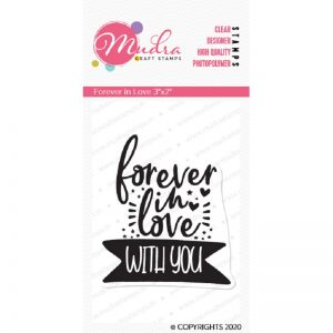 Mudra Clear Stamp - Forever in Love