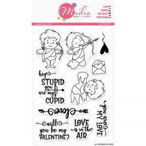 Mudra Clear Stamp - Cupid Love
