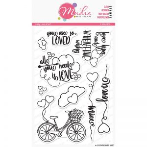 Mudra Clear Stamp - Only Love