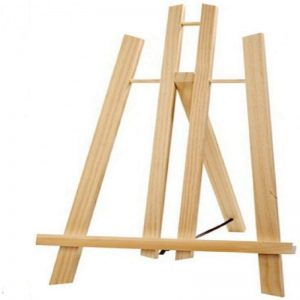 Wooden Easel With Tow 20 x 10