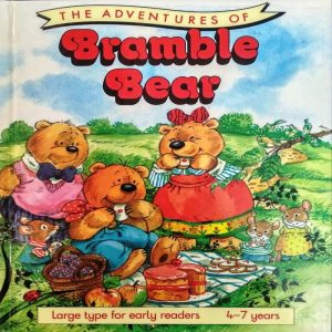 The Adventures of Bramble Bear Large Type for Early Readers by Geoffrey Alan