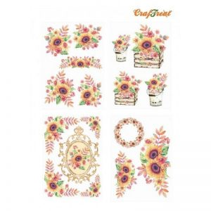 Craftreat Decoupage Paper - Sunflower