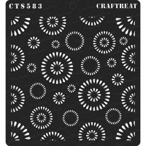 CrafTreat Stencil - Round Rings
