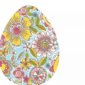 Easter Egg Pattern Decoupage Napkin