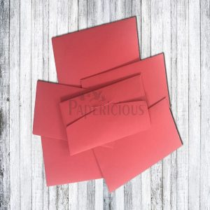 Papericious Cash Envelope - Hot Red