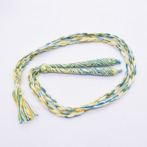 Mixed Colour Twisted Cotton Thread Neck Rope