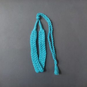 Blue Double Braided Cotton Thread Neck Rope