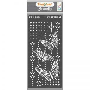 CrafTreat Stencil - Butterfly Magic