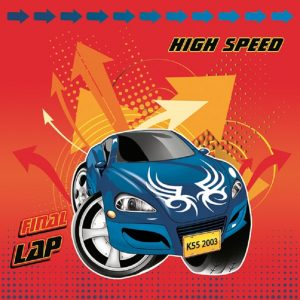 Spiderman High Speed Car Decoupage Napkin