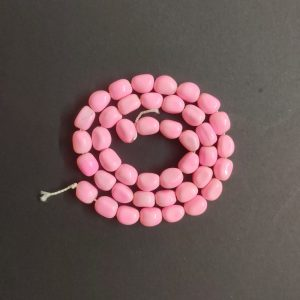 Pink Irregular Nugget Beads