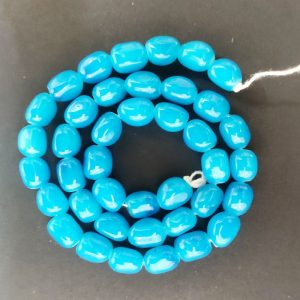 Blue Irregular Nugget Beads