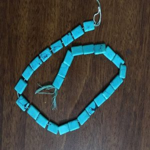 Glass Uncut Beads - Turquoise Blue