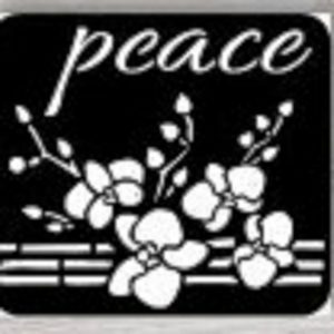 iCraft 4 x 4 Mini Stencil - Peace