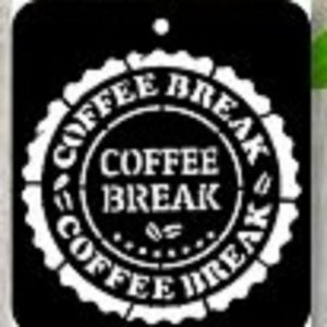 iCraft 4 x 4 Mini Stencil - Coffee Break