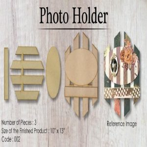 Wooden Element - Name Plate/Photo Holder