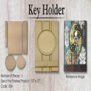 Wooden Element - Key Holder